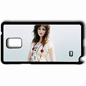 Personalized Samsung Note 4 Cell phone Case/Cover Skin Alexis bledel actresses famous for being star of the cws gilmore girls and the good guy and post grad Black