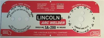 lincoln electric sa 200 parts - 6
