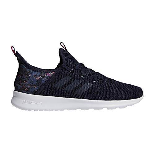 adidas Performance Women's Cloudfoam Pure Running Shoe, Legend Ink/Legend Ink/Clear Orange, 7.5 M US (Cute Back To School Shoes For Girls)