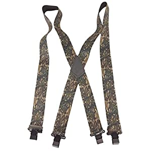 """USA MADE CUSTOM SUSPENDERS • 2"""" WIDE • STRONG METAL CLIPS • BUY AMERICAN !"""