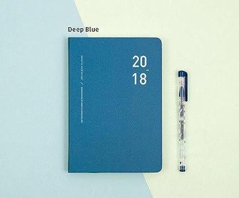2018 ardium basic planner journal monthly weekly yearly scheduler organize note