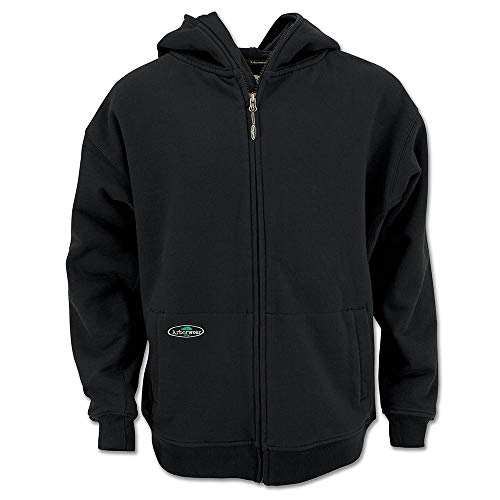 - Arborwear 400341 Men's Single Thick Full Zip Sweatshirt, Black, X-Large