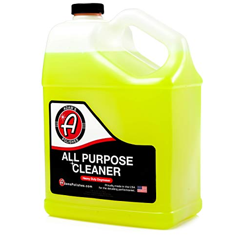 Adam's Heavy Duty All Purpose Cleaner & Degreaser - Powerful, Professional Strength Formula That Easily Cuts Heavy Grease & Tar, Tire Cleaner, Engine Bay Cleaner, and More (1 ()