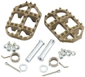 Pro Taper Replacement Hardware Kit MX/Off-road/Dirt Bike Motorcycle Footpegs - Steel / One Size Footpeg Hardware