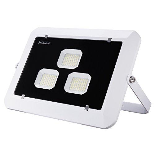 Led Lighter Slim (SMARUP 150W LED Flood Light,360degree Adjustable LED Reflector,Slim and Lighter LED Food Light,110V Good Heat Dissipation LED Flood Light IP65 Water Proof)