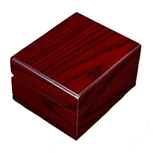 Oak-Pine Premium Glossy Wooden Wrist Watch / Bangle Pillow Box Great Birthday Gift Party Gift