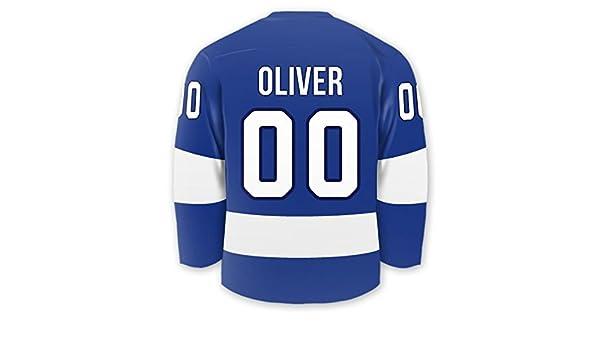 Personalizado Hockey Jersey adhesivo etiquetas: Amazon.es: Oficina ...