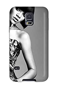Fashionable Galaxy S5 Case Cover For Rihanna 48 Protective Case 8400609K83534306