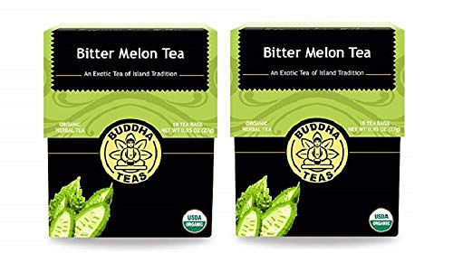 Organic Bitter Melon - Kosher, Caffeine-Free, GMO-Free (2 Pack)