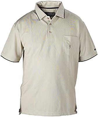 Wolf Camper Kenya Polo Camiseta Hombre, Color - Arena, tamaño XXL ...