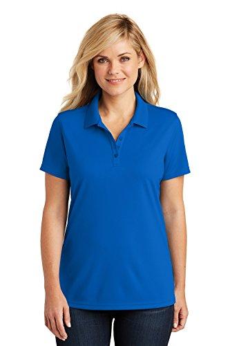 Port Authority Womens Dry Zone UV Micro-Mesh Polo (LK110) -True Royal -L