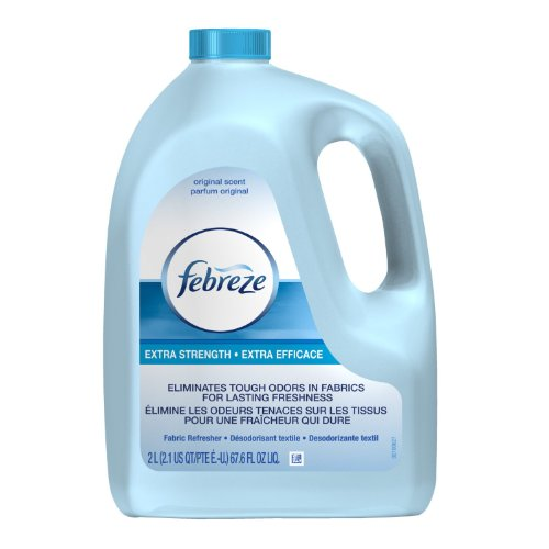Febreze Extra Strength Fabric Refresher Original Scent, Refill 67.6 Ounce (Pack of 4) by Febreze