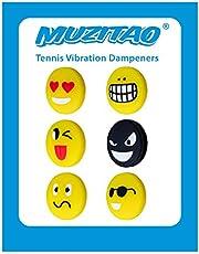 Vibrationsdämpfer für Tennis im 6er Pack
