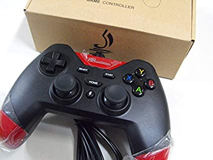 Amazon com: PC Controller Wired USB Gamepad Joystick for