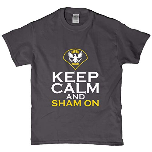 E4 Mafia Specialist Keep Calm and Sham On T Shirt 21846 ()