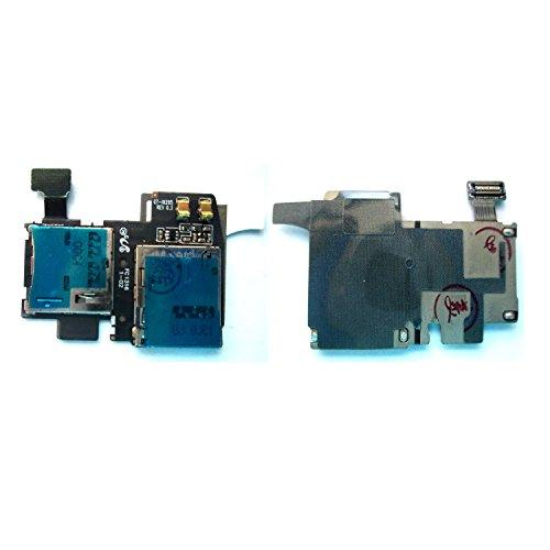 Simply Silver - New MicroSD SIM Card Reader Holder Tray F...