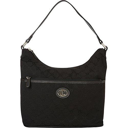 aurielle-carryland-classic-signature-jacquard-hobo-black-black