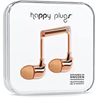 Happy Plugs 7738 In-Ear Headphones, Rose Gold