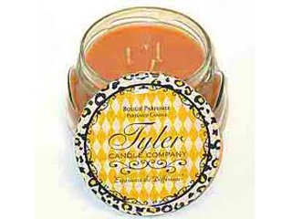 Tyler Glass Jar Candle - 22 Oz Long Burning Scented Candle – Pumpkin Spice - Pumpkin Candle Spice Glass