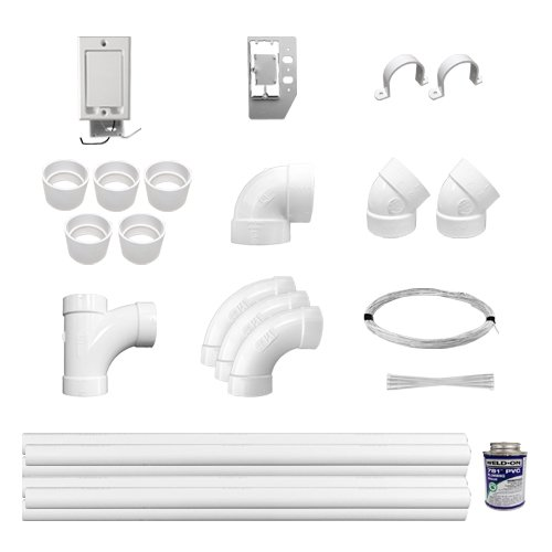 Central Vac Electric Installation Kit