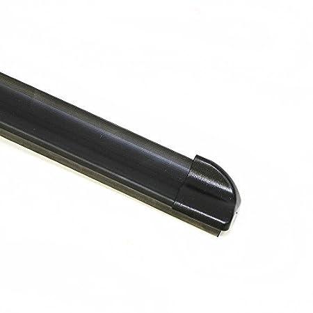Escobillas de limpiaparabrisas planas flexibles, sin juntas, brazo con gancho en forma de U: Amazon.es: Coche y moto