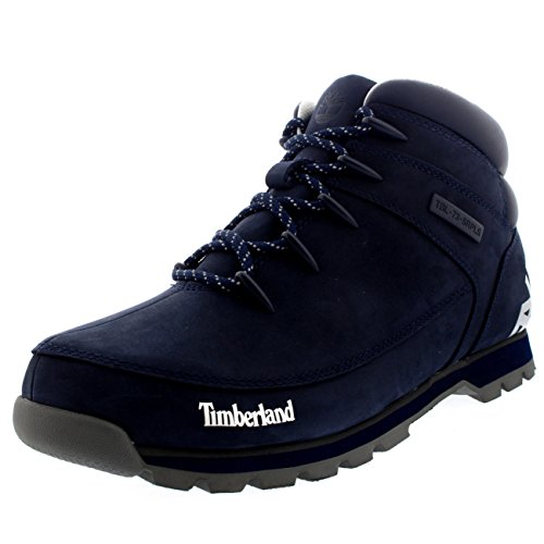 Mens Timberland Euro Sprint Hiker Winter Black Casual Ank...