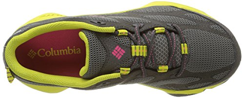 Columbia Conspiracy Iv Outdry, Zapatillas de Deporte Exterior para Mujer Gris (Dark Fog, Afterglow 078Dark Fog, Afterglow 078)