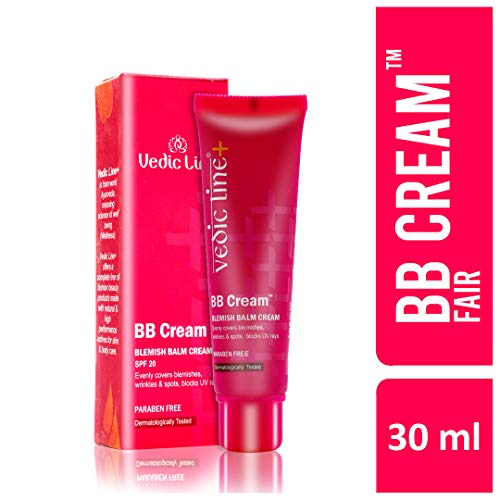 Vedicline BB Cream For Fair Skin with SPF 20 (Best Bb Cream For Indian Skin)