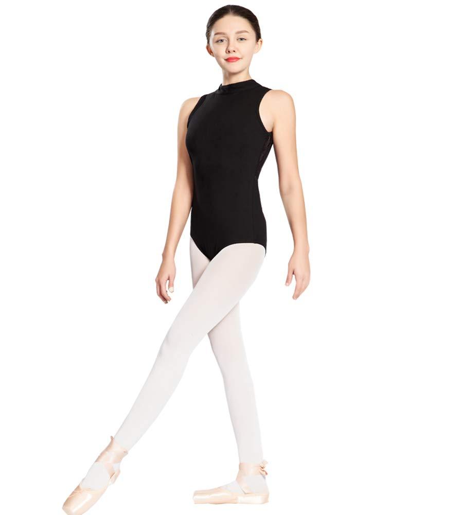 【メール便送料無料対応可】 Limiles レディース ストレッチコットン バレエ ダンス ブラック ポロネック レオタード X-Small B07JGVCGLL バレエ X-Small|ブラック ブラック X-Small, drop candy:46f63a46 --- a0267596.xsph.ru