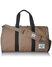 Herschel Novel Duffel Bag, pine Bark/Black, One Size