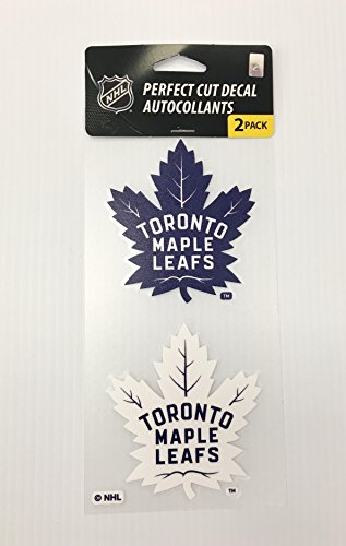 (Wincraft NHL Toronto Maple Leafs 4x8 Die-Cut Decal Sticker )