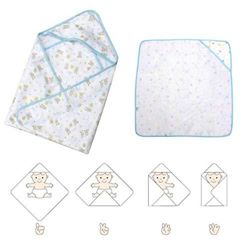 funwill Soft Baby Blankets Baby Kids Bathing Towels Hooded Towel Lovely Baby Bath Towel Baby Swaddle Wrap Sleeping Bag Sleepsack