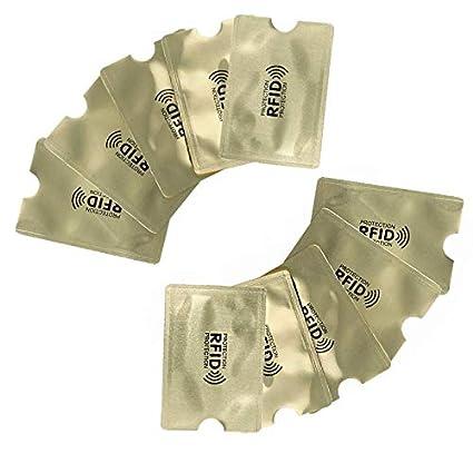 VAVAMAX Anti Rfid Protectores para Tarjetas de Crédito ...