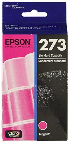 Epson T273320 Epson Claria Premium 273 Standard-capacity Magenta Ink Cartridge (T273320) Ink