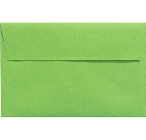 A9 Invitation Envelopes w/Peel & Press (5 3/4 x 8 3/4) - Limelight Green (50 Qty.) Photo #2