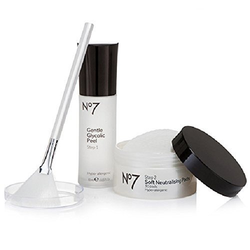 Boots No7 Advanced Renewal Anti-Aging Glycolic Peel Kit