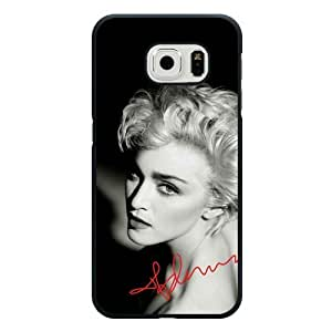 Galaxy S6 Case, Customized Madonna Black Hard Shell Samsung Galaxy S6 Case, Madonna Galaxy S6 Case(Not Fit for Galaxy S6 Edge)
