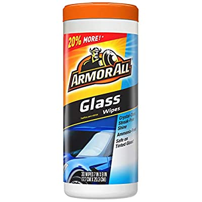 Armor All 17501C 30 Count Glass Wipe: Automotive