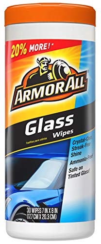 Armor All 17501C 30 Count Glass Wipe (Best Car Glass Wipes)