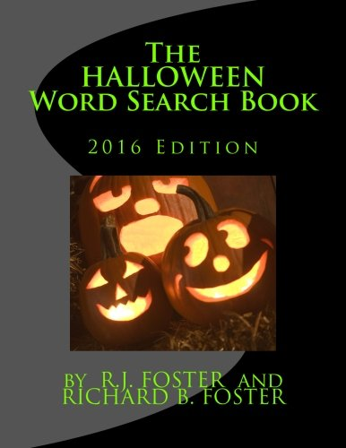 The Halloween Word Search Book: 2016 Edition