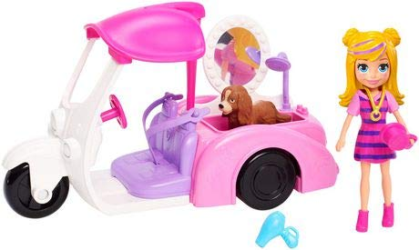 (NEW! Polly Pocket Scrubadub Pup Pet Washer Set)
