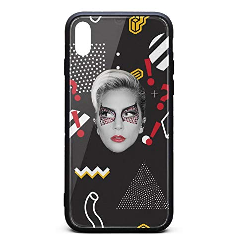 Phone case for iPhone x/xs/xs max Fashion Shock Absorption TPC Tempered Glass Revel Cordless uni Cover Case ()