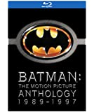 Batman: The Motion Picture Anthology 1989-1997 (Batman / Batman Returns / Batman Forever / Batman & Robin) [Blu-ray] (Bilingual)