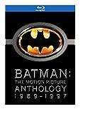Batman: The Motion Picture Anthology 1989-1997 (Batman / Batman Returns / Batman Forever / Batman & Robin) [Blu-ray] (Bilingual)