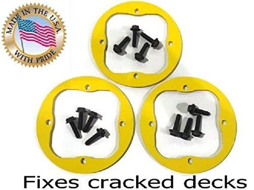 - Outdoor Power Deals Set of 3 Deck Spindle Repair Ring for MTD Cub Cadet Troy bilt LT LTX SLT RZT 4 Bolt 918-04126A 918-04125B 918-0671B and More