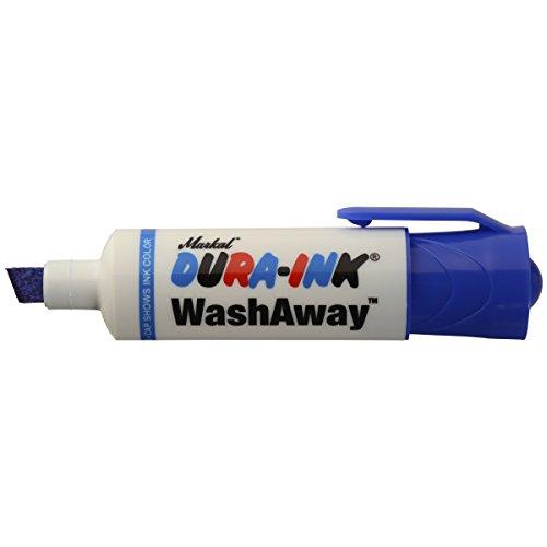Markal 96302 Dura-Ink Wash Away Temporary Ink Marker, Blue