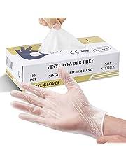Multi-Purpose Vinyl Handschoenen, Poedervrij, Verwijderbaar, Extra Sterk - Doos van 100 - Maat L