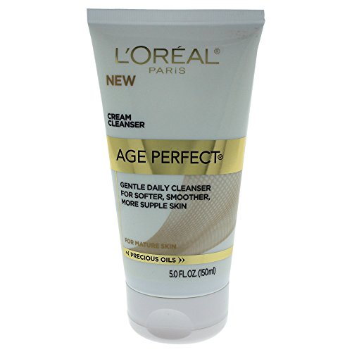 L'Oréal Paris Age Perfect Nourishing Cream Face Wash for Gentle Daily Cleansing, 5 fl. oz.