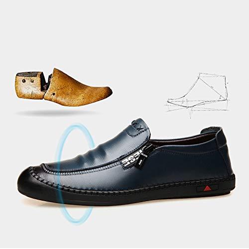 Uomo FXN3163setfootblue YXLONG Scarpe Nuove Da Business Traspirante Di Autunno Piedi Pelle In Uomo Set Pelle Antiscivolo In Pizzo Da Casual Scarpe Scarpe aa1Znw6r
