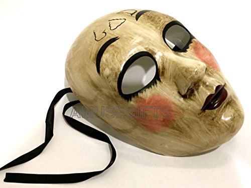 The Purge Costume Anarchy (The PURGE GOD MASK Anarchy movie mask horror Killer Halloween Purge Costume Party)